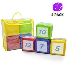 Pocket dice are a must-have supply for kindergarten and first grade classrooms! These are perfect for centers and whole-group games.